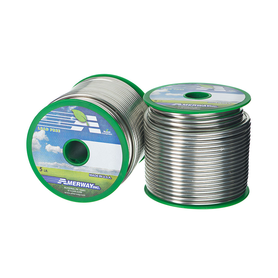 Lead Free Solid Wire Amerway Solder Products